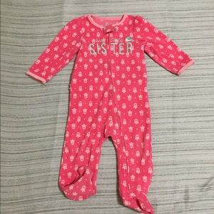 FREE* bundle and save. GUC Pink footie size 6-9